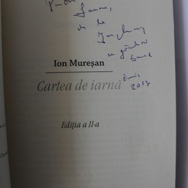 Ion Muresan - Cartea de iarna (cu autograf)
