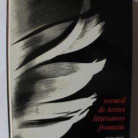 A. Chassang, Ch. Senninger - Recueil de textes litteraires francaise (editie in limba franceza, hardcover)