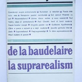 Marcel Raymond - De la Baudelaire la suprarealism