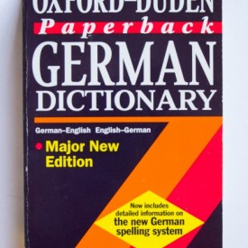 The Oxford-Duden German Dictionary (German-English, English-German)
