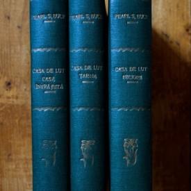 Pearl S. Buck - Casa de lut (3 vol., editie hardcover, interbelica, frumos relegata)