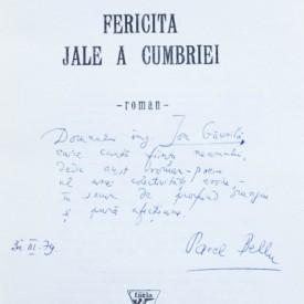 Pavel Bellu - Fericita jale a Cumbriei (cu autograf)