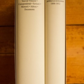 Nicolae Balcescu - Opere I-II (I. Scrieri istorice, politice si economice 1844-1852. II. Romanii supt Mihai Voevod Viteazul. Corespondenta. Scrisori. Memorii. Adrese. Documente) (2 vol., editie hardcover)