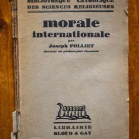 Joseph Folliet - Morale internationale (editie interbelica)