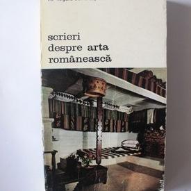 Al. Tzigara-Samurcas - Scrieri despre arta romaneasca