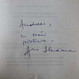 Ana Blandiana - Ghicitul in multimi (cu autograf)