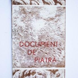 Colectiv autori - Document de piatra (Poeti populari din Muntii Apuseni)