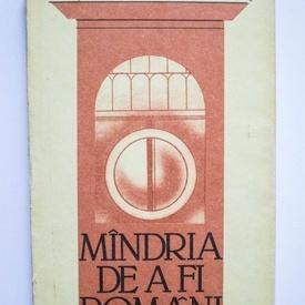 Corneliu Vadim Tudor - Mandria de a fi romani (editie hardcover)