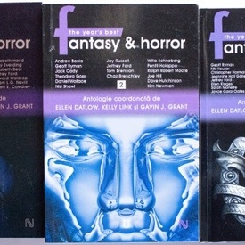 Ellen Datlow, Kelly Link, Gavin J. Grant - The year's best Fantasy & Horror (3 vol.)