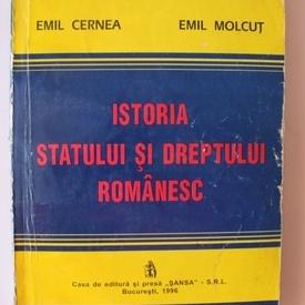 Emil Cernea, Emil Molcut - Istoria statului si dreptului romanesc