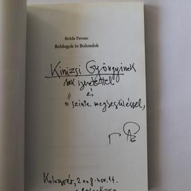 Francois Breda - Boldogok es Bolondok (editie in limba maghiara, cu autograf)