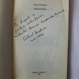 Gabriel Diradurian - Cantecul lebedei (cu autograf)