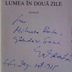 George Balaita - Lumea in doua zile (cu autograf)