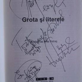 George Vulturescu - Grota si literele (editie hardcover, cu autograf)
