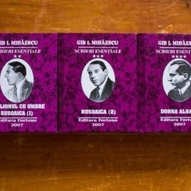 Gib I. Mihaescu - Scrieri esentiale (5 vol. in caseta speciala, format liliput, hardcover)