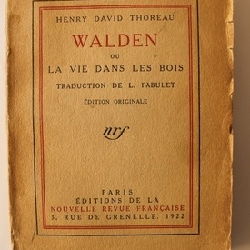 Henry David Thoreau - Walden ou la vie dans les bois (editie in limba franceza)