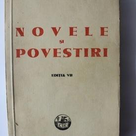 I. L. Caragiale - Novele si povestiri