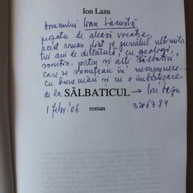 Ion Lazu - Salbaticul (cu autograf)
