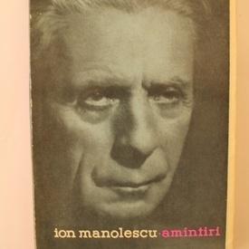 Ion Manolescu - Amintiri