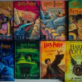 J.K. Rowling - Colectie completa Harry Potter (8 vol., editii hardcover)