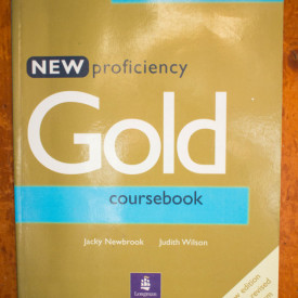 Jacky Newbrook, Judith Wilson - New Profiency Gold Coursebook (new edition for the revised CPE exam)