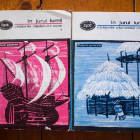 James Cook - In jurul lumii. Calatoriile capitanului Cook (2 vol.)
