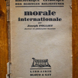 Joseph Folliet - Morale internationale (editie interbelica)