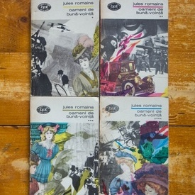 Jules Romains - Oameni de buna-vointa (4 vol.)