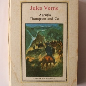 Jules Verne - Agentia Thompson and Co (editie hardcover)