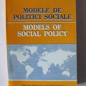 Liliana Mihut, Bruno Lauritzen - Modele de politici sociale / Models of social policy (editie bilingva, romano-engleza)