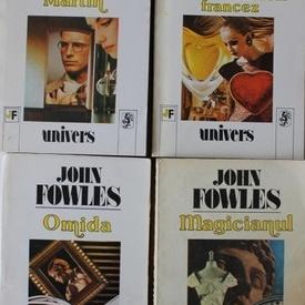 Lot 7 romane John Fowles (Magicianul. Colectionarul. Omida. Turnul de abanos. Iubita locotenentului francez. Daniel Martin. Mantisa)