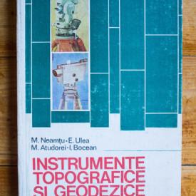 M. Neamtu, E. Ulea, M. Atudorei, I. Bocean - Instrumente topografice si geodezice (editie hardcover)