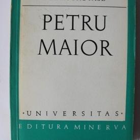 Maria Protase - Petru Maior (debut, cu autograf)