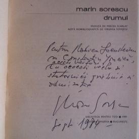 Marin Sorescu - Drumul (cu autograf)
