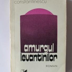 Mircea Constantinescu - Amurgul levantinilor