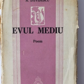 N. Davidescu - Evul Mediu (editie interbelica)