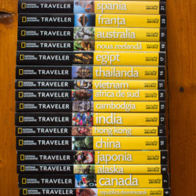 National Geographic Traveler (colectie completa, 26 vol.)