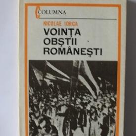 Nicolae Iorga - Vointa Obstii Romanesti