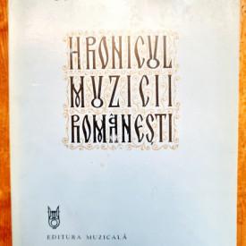 Octavian Lazar Cosma - Hronicul muzicii romanesti VI. Gandirea muzicala (1898-1920)