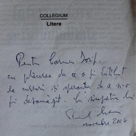 Paul Cornea - Interpretare si rationalitate (cu autograf)