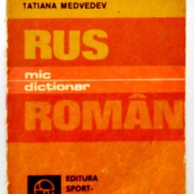 Tatiana Medvedev - Mic dictionar rus-roman