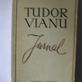 Tudor Vianu - Jurnal