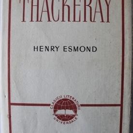 W. M. Thackeray - Henry Esmond (editie hardcover)