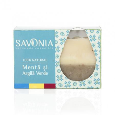 Poze SAVONIA - Sapun Menta si Argila Verde