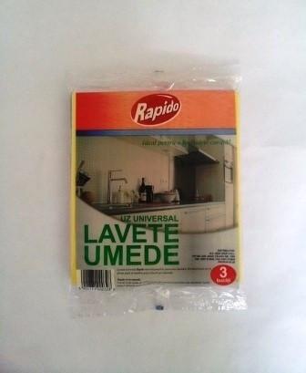 Poze RAPIDO Lavete umede 3/set