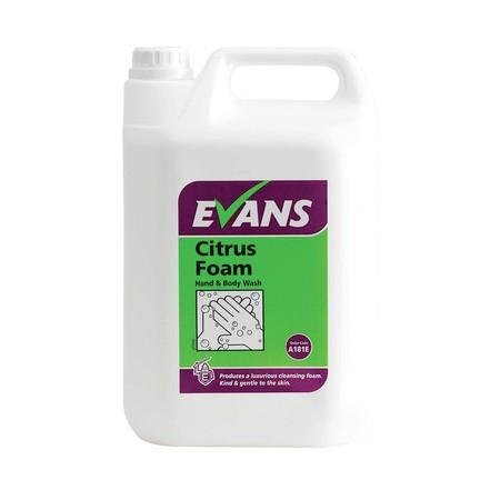 Poze Evans Citrus Foam 5L - sapun spuma