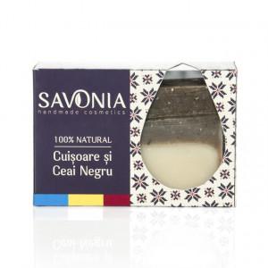 SAVONIA - Sapun Ceai Negru si Cuisoare