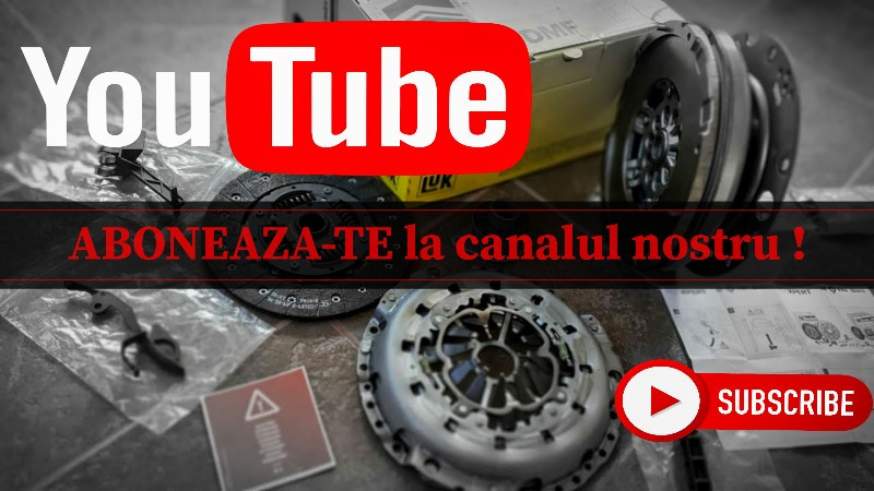 social media YouTube ambreiaj si volanta masa dubla Luk si Sachs powered by Efix Team