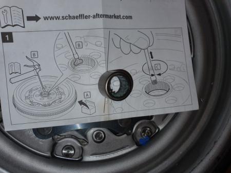 VOLANTA MASA DUBLA LUK CUTIE DSG 6+1 VW JETTA 2.0TDI 136CP / 140CP