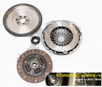 KIT CONVERSIE AMBREIAJ si VOLANTA MASA SIMPLA VW POLO 6R 1.6 TDI 75CP/90CP/105CP